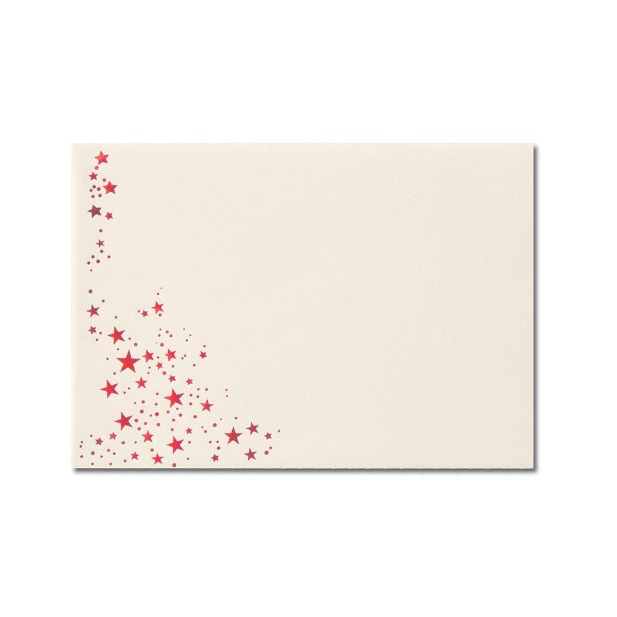 300x Weihnachts-Briefumschläge     DIN C6   mit Gold-Metallic geprägtem Sternenregen  Farbe  Sandbraun  Nassklebung, 120 g m²   114 x 162 mm   Marke  GUSTAV NEUSER® B07CHS8FTR | Merkwürdige Form  | Moderater Preis  | Modisch  7f4f61