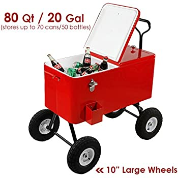 Amazon Com Crazy Coolers Red 4stroke Motorized All