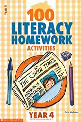100 Literacy Homework Activities for Year 4