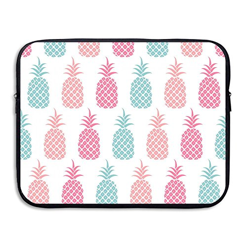 Business Briefcase Sleeve Pineapples Watercolor Painting Lap