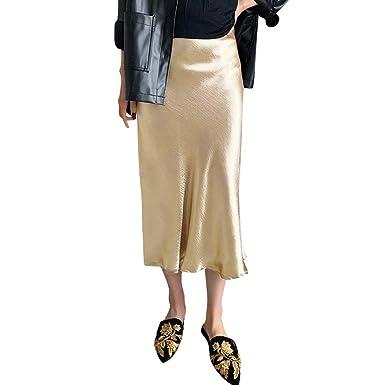 Vestidos de Verano para Mujer, Falda Plisada de Cintura Larga ...