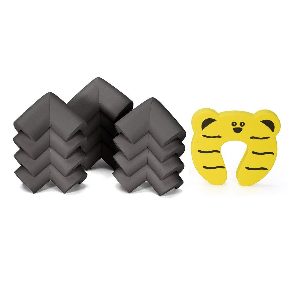 InnoBeta® Protecciones para esquinas extra gruesos 12 piezas. Protecciones para bebés. Protecciones para
