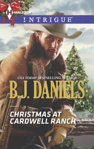 book cover of Christmas at Cardwell Ranch