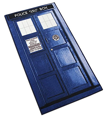 Doctor Who XL Rectangle Tardis Rug (6ft)