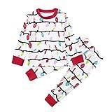 Kamendita Holiday Christmas Family Matching Pajamas PJs Sets Romper Jumpsuit Family Pajamas Sleepwear Christmas Outfit