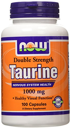 Now Taurine 1000 mg 100 Capsules