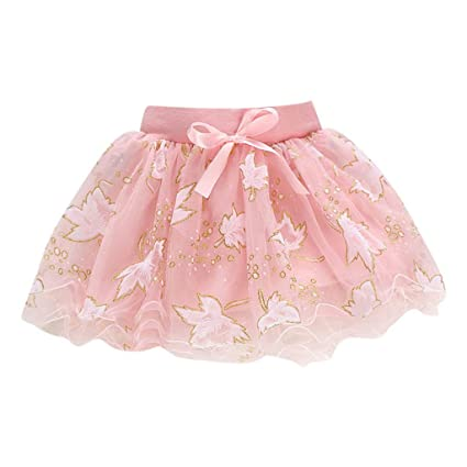 a993277dc ❤Ywoow❤ Baby Clothes Set, Toddler Kids Baby Summer Tutu Tulle Skirts Puffy  Short