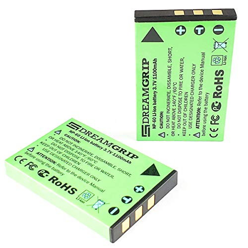 Original Rechargeable 3.7V Li-ion Battery 1100 mAh CE/FCC/ROHS Certified for DREAMGRIP Universal External Photo/Video 36 LED Light (Universal Remote Battery)