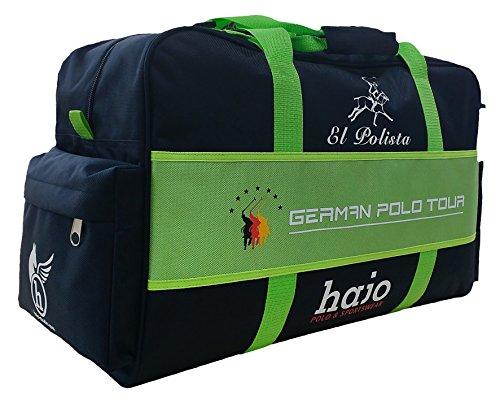 """hajo Polo & Sportswear German Polo Tour Sporttasche """"El Polista"""" - Bolso de asas de Sintético para hombre Marine"""