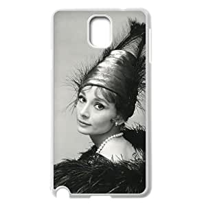 YYCASE Customized Print Audrey Hepburn Hard Skin Case Compatible For Samsung Galaxy Note 3 N9000