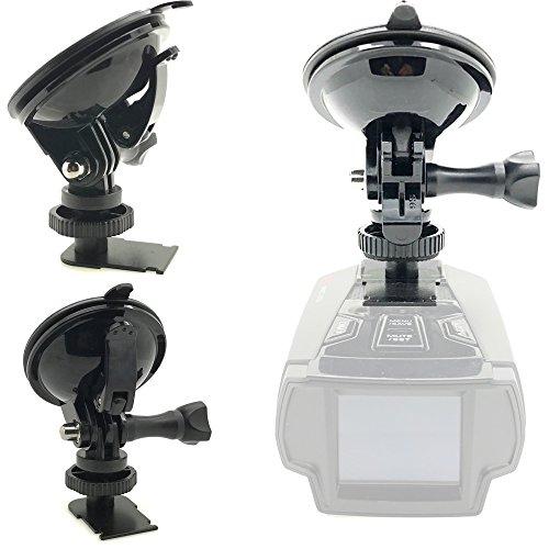 Cobra Radar Detector Windshield Mount - ChargerCity Super Sticky Suction Radar Detector Windshield Suction Cup Mount for Cobra XRS 93xx 94xx 95xx 96xx 97xx 98xx 99xx SPX 5300 5400 5500 6500 6600 6700 7700 7800 iRadar Detector
