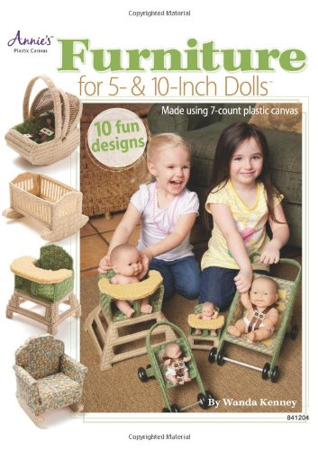Furniture for 5- & 10-Inch Dolls (Annie's Attic: Plastic Canvas) (Plastic Canvas Doll)