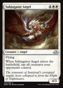 Magic: the Gathering - Subjugator Angel (045/205) - Eldritch Moon