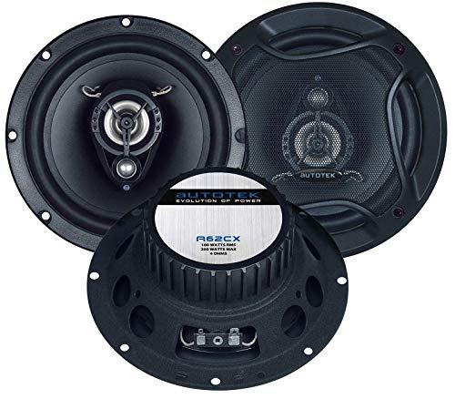 Autotek A62CX Lautsprecher 400 Watt 16, 5cm Koax inkl Einbauset fü r Hyundai Accent ab 03/2006 EHO