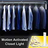 Motion Activated Closet Light, SMATIS Battery Operated Closet Light with Manual & Auto