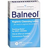 Balneol Hygienic Cleansing Lotion Packets 20 Each (Pack of 8)