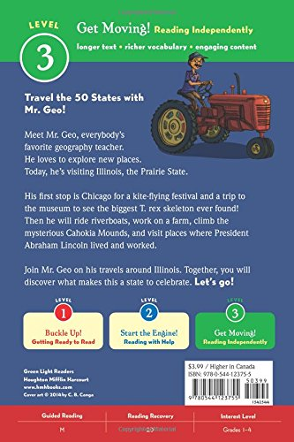 Celebrating Illinois: 50 States to Celebrate (Green Light Readers Level 3) by HMH Books for Young Readers