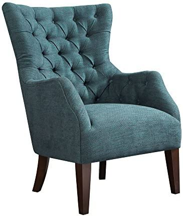 Madison Park Button Tufted Wing Chair
