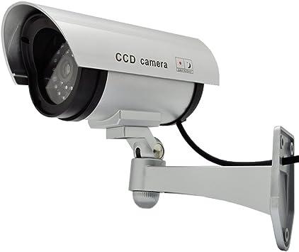 Fake Dummy Dome Camera LED Außen Innen Überwachungskamera Attrappe CCTV Kamera