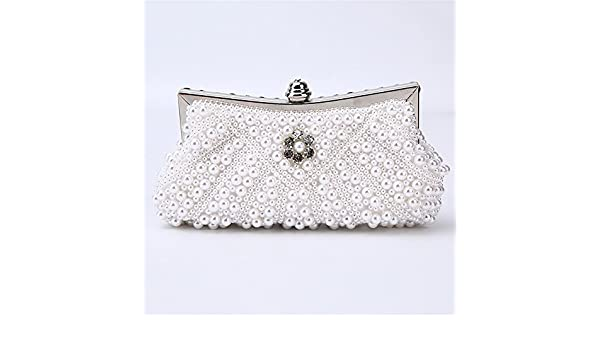 Color : Gold Jaiconfiance Women Clutch Classic Handmade PU Evening Clutch Bag Lady Large Capacity Banquet Bag Simple Party Clutch Purse Women Handbags Wedding Clutch Purse