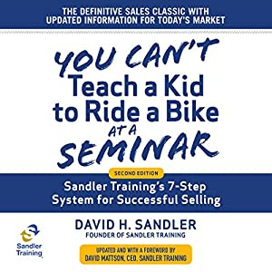 You Can't Teach a Kid to Ride a Bike at a Seminar Audiobook