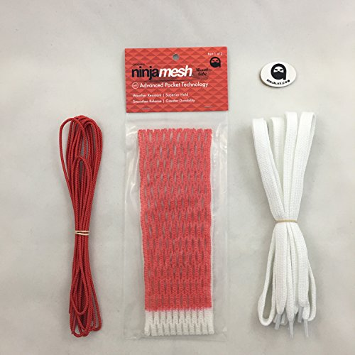 Ninja Mesh Red Waxed mesh fade with string kit for sale  Delivered anywhere in Canada