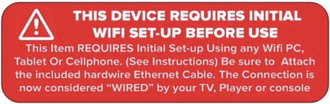 Adaptador universal Smart TV Ethernet a WiFi alternativa para Samsung, Sony, Panasonic, LG LED LCD y Plasma Smart Ready TV (requiere configuración inicial antes de su uso): Amazon.es: Electrónica