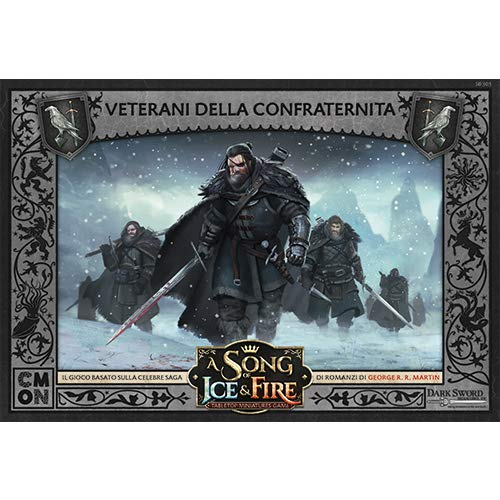 Asmodee Italy-A Song of Ice and Fire-Brotherhood Veterans Expansion Board Game, 10422