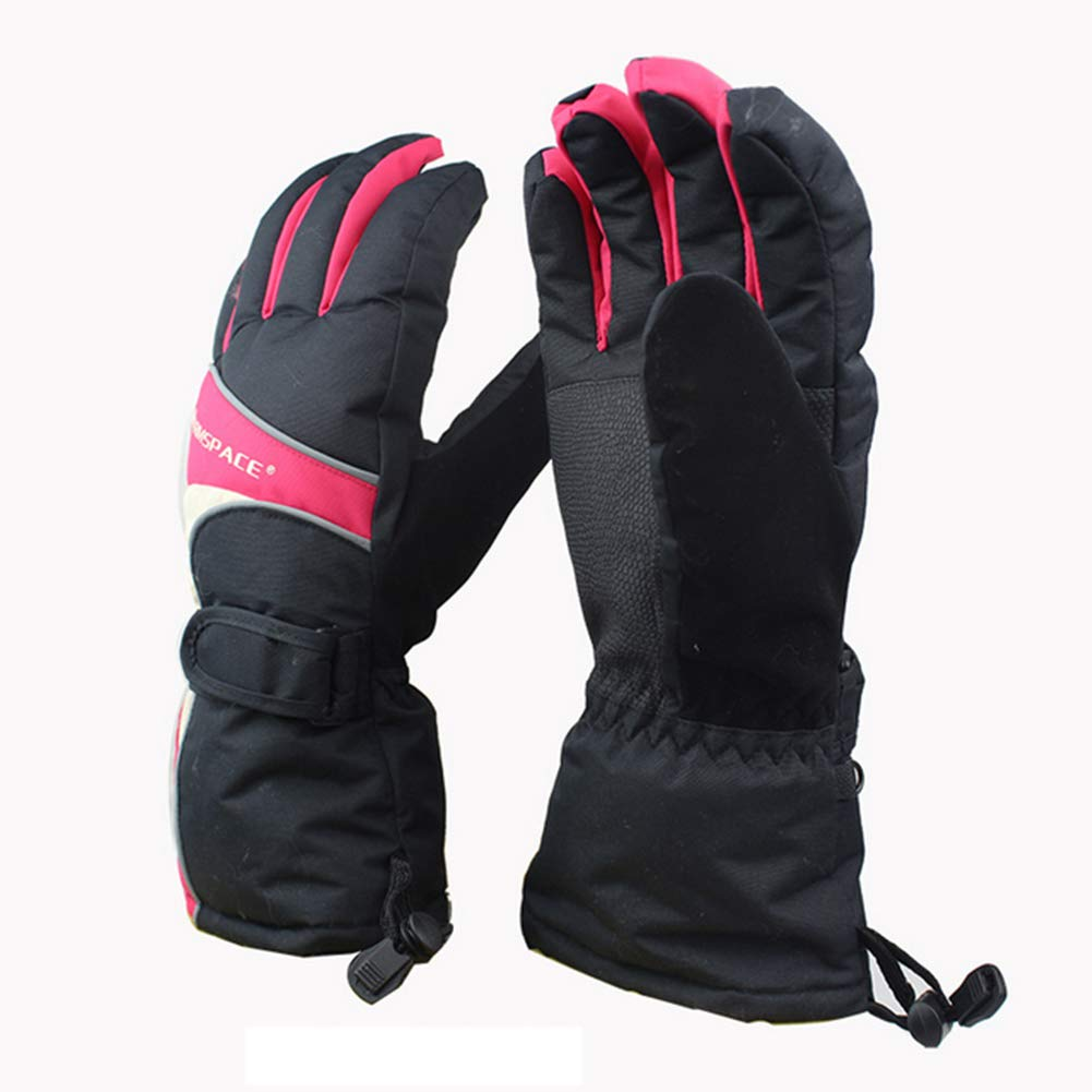 TZTED Mermaid Elektrische Beheizbare Handschuhe für Männer und Frauen, warme Handschuhe für Das Radfahren, Motorrad, Wandern Skitouren