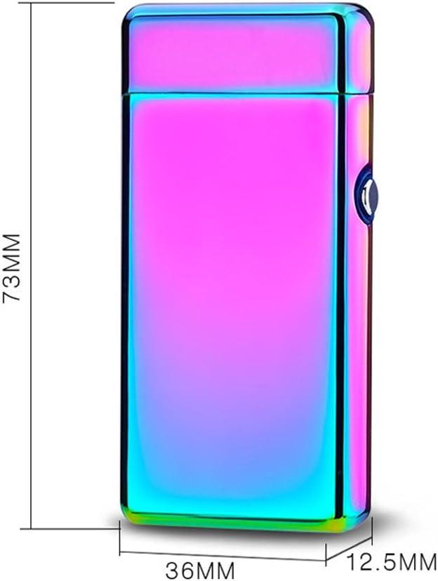 Sinbow Briquet Electrique USB Rechargeable Plasma Coupe-Vent sans Flamme Arc Faisceau Allume-Cigare