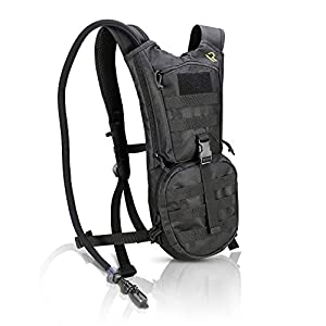 SUMMER SPECIAL HYDRATION PACK with Leak Proof 2L Water Bladder - Keeps Your Fluids Cold And Stores All Your Gear - Lightweight, Waterproof and Fully Adjustable Backpack For Men and Women