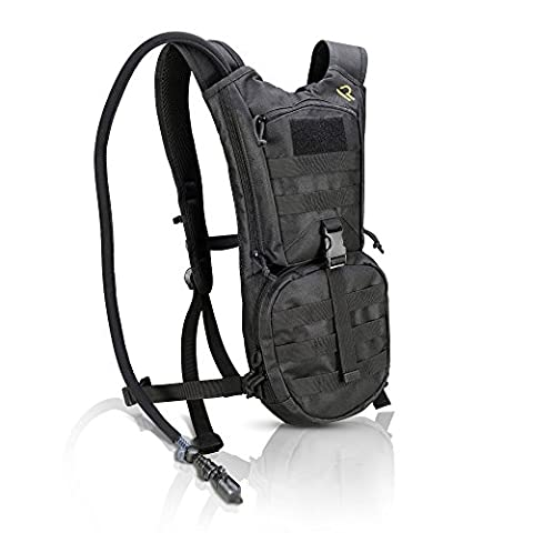 SUMMER SPECIAL HYDRATION PACK with Leak Proof 2L Water Bladder - Keeps Your Fluids Cold And Stores All Your Gear - Lightweight, Waterproof and Fully Adjustable Backpack For Men and