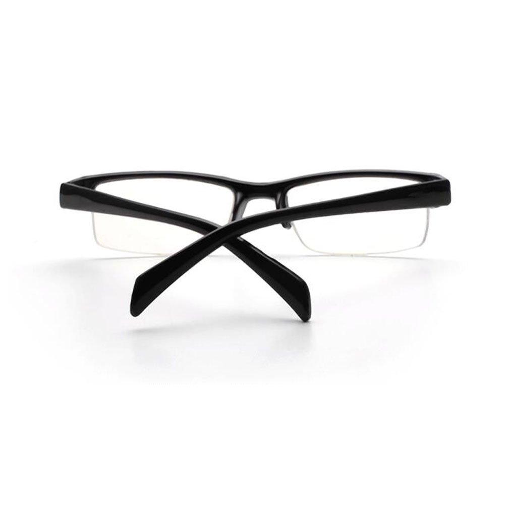 Zhuhaixmy Unisex Retro Nearsighted Glasses Half Rim Myopia Glasses Short Sight Eyeglasses M/änner Frauen Myopie Brille Kurzsichtbrillen Nearsighted Brille