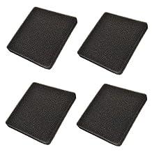 HQRP 4-pack Foam Filter for API Rena Filstar xP Aquarium Filters 30 ppi Mechanical Filtration + HQRP Coaster