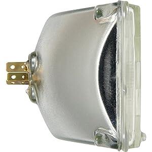 SYLVANIA H4656 Basic Halogen Sealed Beam Headlight 100x165, (Contains 1 Bulb)