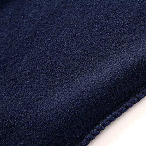 Imposta Pantaloni Top Blu Inverno Autunno Leisure Maniche Uomo A Lunghe Zipper Suit Kobay Tuta q4wx6PUv6