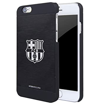 FC Barcelona - Carcasa / Funda para Apple iPhone 6 / 6S (4.7) , aluminio, color negro