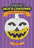 Intricate Jack O'Lanterns: 45 Halloween Designs to Color