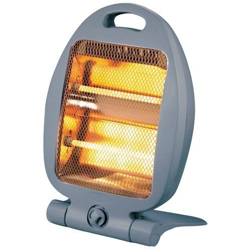 800W Portable 2 Bar Quartz Heater Instant Heat FOR HOME OR OFFICE Daewoo Electricals