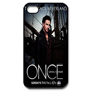 Bloomingbluerose Once Upon a Time Captain Hook Colin O'donoghue Killian Jones IPhone 4/4s Cases, [Black]