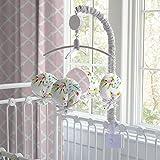 Carousel Designs Pink and Gray Primrose Mobile