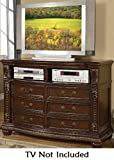 Acme Furniture Anondale Collection 10320 TV Console in Cherry