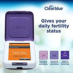 Clearblue Fertility Test Monitor, Touch Screen, Helps You Get Pregnant Faster