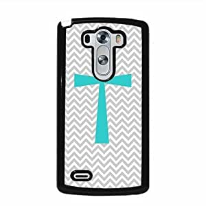 Cross Micro Chevron LG G3 Protective Cell Phone Cover Case - Fits LG G3