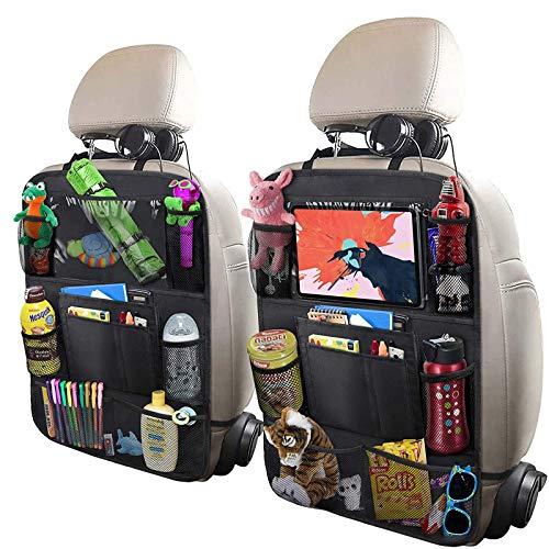 Backseat organizer with nine pockets