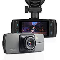 "NEXGADGET 2.7"" Dash Cam 150 Degree Wide Angel Dashboard Camera Vehicle Recorder with G-Sensor, Motion Detection, Loop Recording"