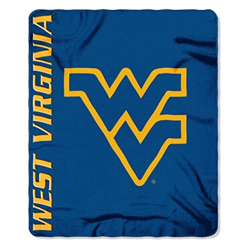 - The Northwest Company NCAA West Virginia Mountaineers Mark Printed Fleece Throw Blanket, 50