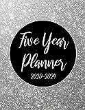 2020-2024 Five Year Planner: Silver 60 Months