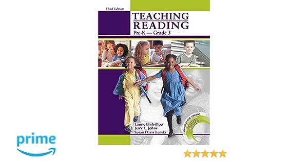 Amazon.com: Teaching Reading Pre-K to Grade 3 w/CD-ROM ...
