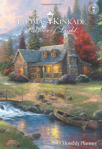 (Thomas Kinkade Painter of Light 2013 Large Monthly Planner)